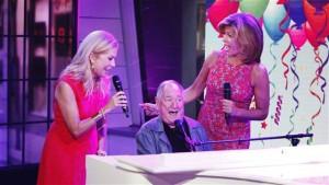 Video of Neil Sedaka singing Happy Birthday to Kathie Lee Gifford