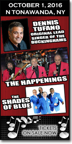 Dennis Tufano, The Happenings & The Shades of Blue at the Riv