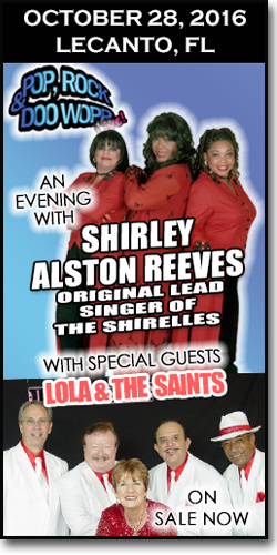 Shirley Alston Reeves & The Saints in Lecanto, FL