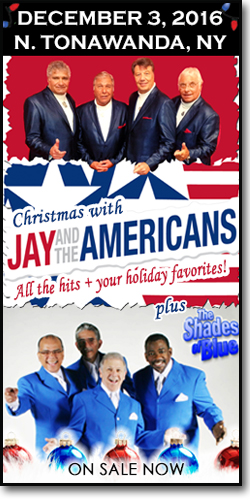 Jay & The Americans in Buffalo for Christmas!