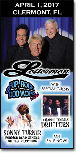 The Lettermen in Clermont