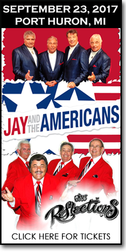 Jay & the Americans with the Reflections at McMorran Place