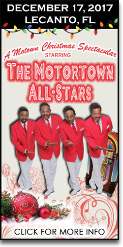 A Motown Christmas at the Curtis Peterson Auditorium
