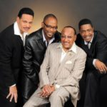 Duke Fakir with the current Four Tops