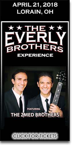 The Everly Brothers Experience at the Lorain Palace
