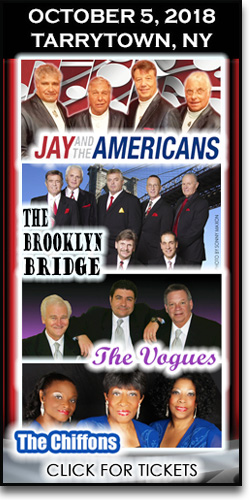Tarrytown Jay & the Americans Brooklyn Bridge