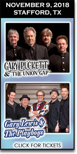 Gary Puckett & Gary Lewis in Stafford Texas