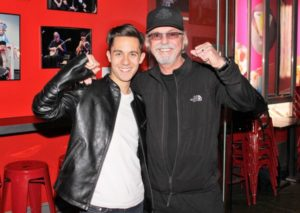 Mike Wartella with Dion DiMucci
