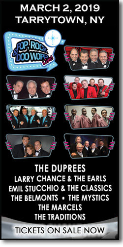 The Duprees, Earls, Classics, Mystics, Marcels, Belmonts and Traditions at Tarrytown Music Hall