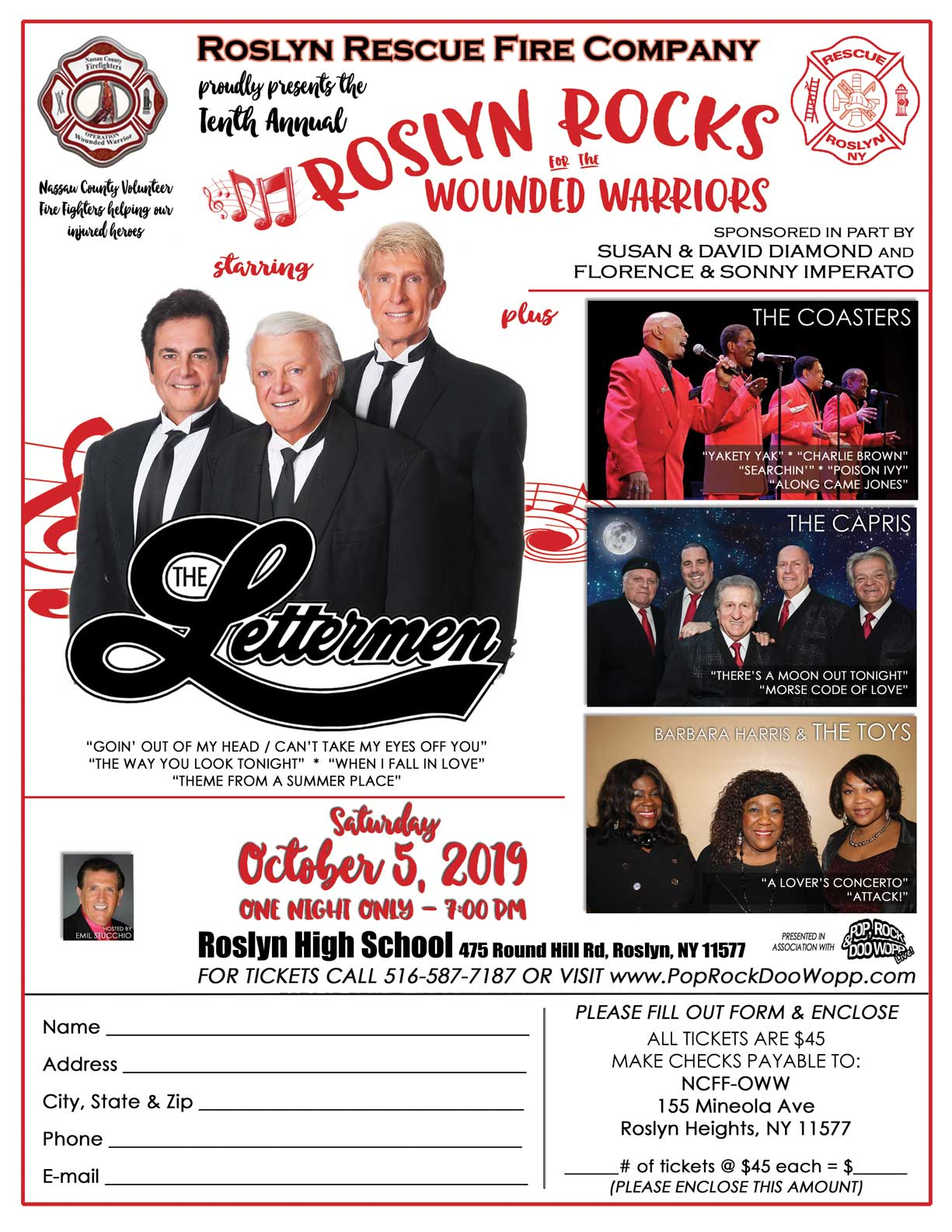 Roslyn Rocks 2019 with the Lettermen