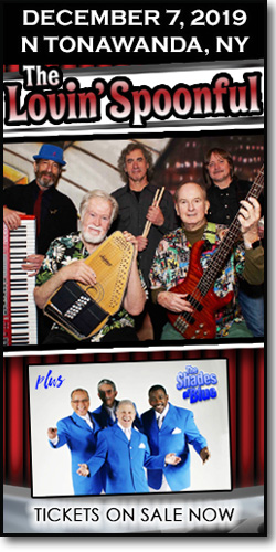 Get tickets for the Lovin' Spoonful & the Shades of Blue on December 7, 2019 at the Rivera Theatre in North Tonawanda, NY.