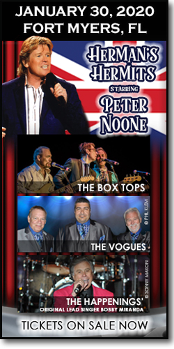 Peter Noone & more at the Barbara B Mann Performing Arts Hall