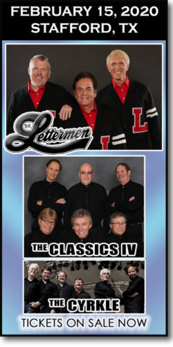 The Lettermen & more at the Stafford Centre