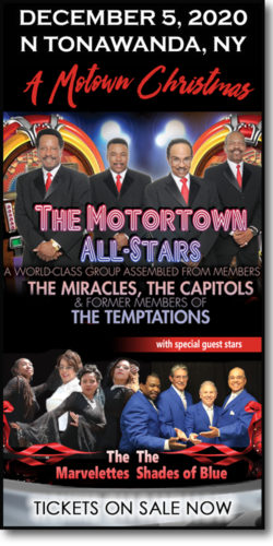 Get tickets to A Motown Christmas event: Motortown All-Stars, The Marvelletes & Shades of Blue on December 5, 2020 @ the Riviera Theatre in N Tonawanda, NY.