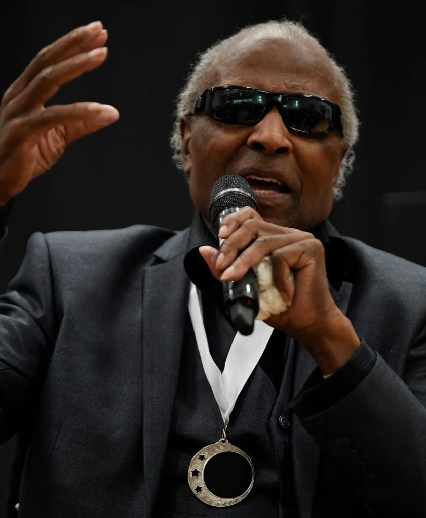 Little Richard at the Oct 23, 2019 Ceremony in Nashville