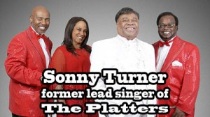 Sonny Turner with his full vocal group