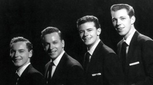 The Diamonds circa 1954