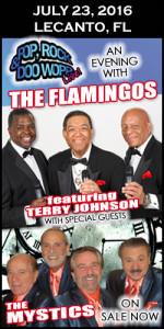 Flamingos & Mystics tickets