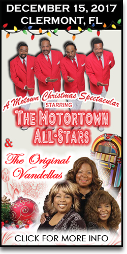 A Motown Christmas at the Clermont PAC