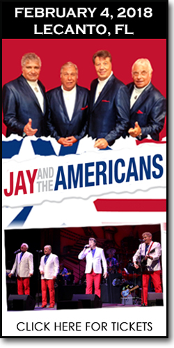 Jay & the Americans at the Curtis Peterson Auditorium