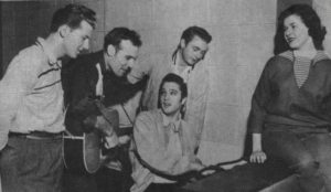The Million Dollar Quartet plus Marilyn Evans