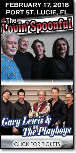 The Lovin' Spoonful w/ Gary Lewis & the Playboys at the PSL Civic Center