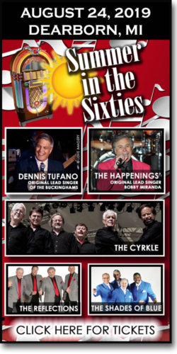 Summer in the Sixties at the Ford Community & Performing Arts Center