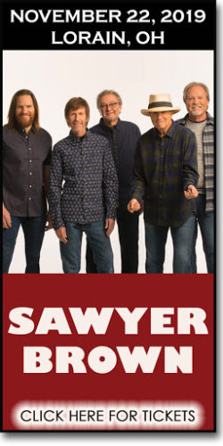Sawyer Brown Live in concert on November 22, 2019 at the Lorain Palace Theatre in Ohio.
