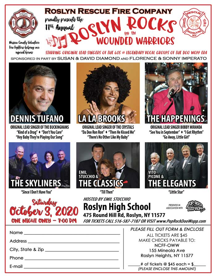Buy tickets to 2020-10-03 Roslyn Rocks for Operation Wounded Warrior