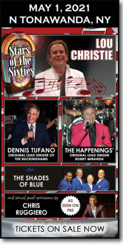 2021-05-01-Stars of the Sixties concert with Chris Ruggiero