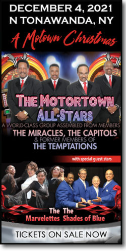 Get tickets to A Motown Christmas event: Motortown All-Stars, The Marvelletes & Shades of Blue on December 4, 2021 at the Riviera Theatre in N Tonawanda, NY.