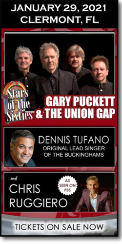 Gary Puckett and more in Clermont